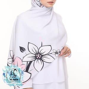 chiffon shawl kl